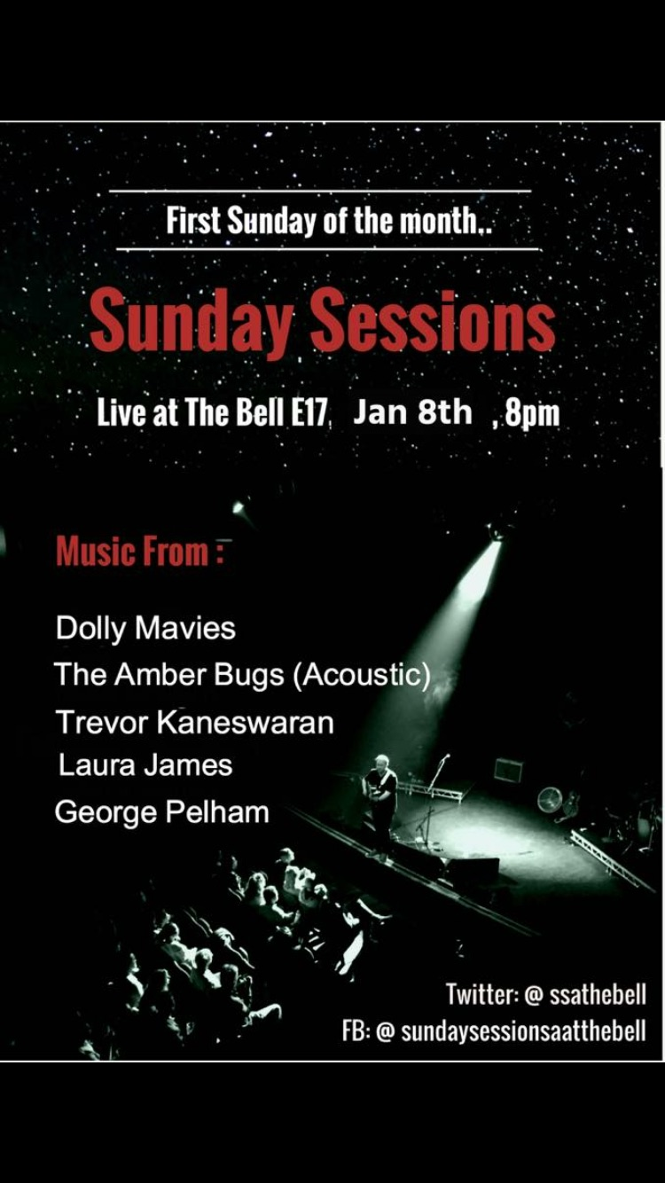 Live music Sunday Sessions at The Bell